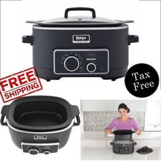 Slow Cooker 3 in 1 Ninja Cooking System Pot Non Stick Oven Triple Fusion Heat    #Ninja #slowcooker #home #kitchen #cooker #steamer#ebay #shopping #amazon #freeshipping #walmart #buynow #homedepot #bestbuy #staples #officedepot #onlineshopping #toysrus #target #overstock #hayneedle
