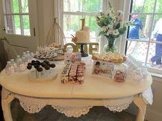 1st birthday dessert table.