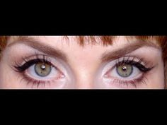 How to make your eyes appear larger and brighter.