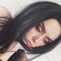 Johanna F. Herrstedt @johannaherrstedt | Websta (Webstagram) #darkhair #longhair