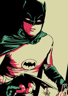 """Same Bat Time..."" - Batman (1966) - Vee Ladwa"