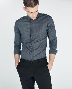 ZARA - MAN - STRIPED VOILE SHIRT