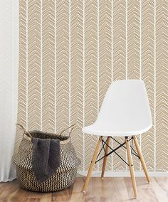 Visgraat handgetekende muur stencil geometrische patroon stencil Wallpaper kijken gemakkelijk home decor herbruikbare patroon stencil DIY Wall Decor #s009