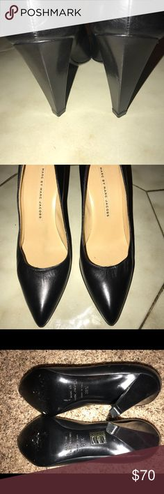 Marc by Marc Jacobs Pumps Perfect for work! NWOT-  slight scuffing in sole from trying on Size 8.5 MMJ Black Pumps   MSRP $349 Marc By Marc Jacobs Shoes Heels