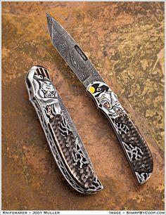 The Engraver's Cafe - The World's Largest Hand Engraving Community - New member knife maker/engraver