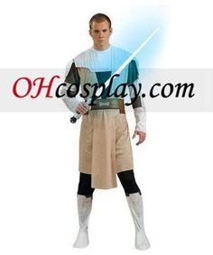 Star Wars Animated Obi Wan Kenobi Adult Costumes