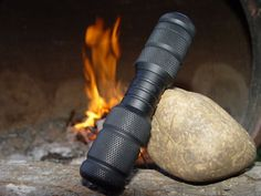 Firestar Fire Piston. The piston uses compression and friction to light tinder and start your blaze in any weather.