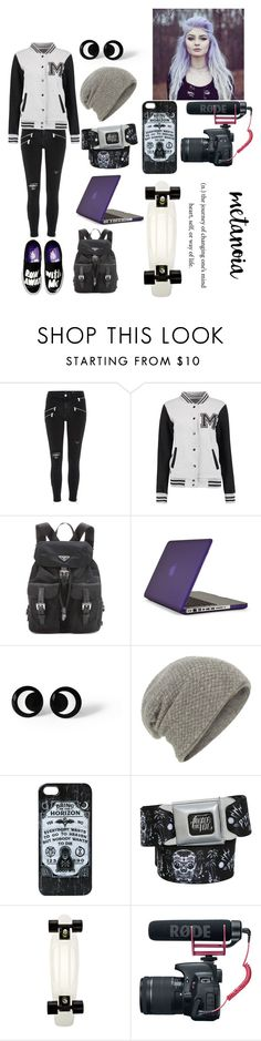 """""""Hanging out with the Fam"""" by rainbowsdear on Polyvore featuring River Island, Prada, Speck and William Sharp"""