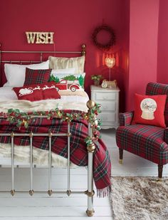 Top 40 Christmas Bedroom Decorating Ideas Christmas Celebrations
