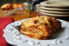 Eggplant parmesan,  the eggplant is baked, not fried.