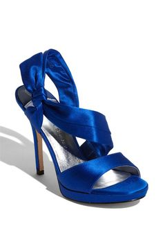 More blue shoes...