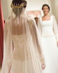 Detalles #velos #encaje #bridal #wedding #noviasnavascues #noviasconestilo