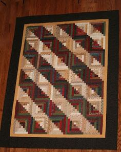 Log Cabin Lap Quilt Free Pattern Download From Log Cabin