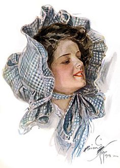 """So, like the bonnet you used to wear. """"Penelope"""" Gingham Bonnet"""
