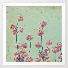 Vintage Spring Art Print by Laura Ruth  - $19.00