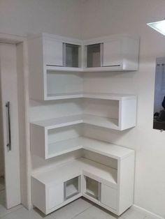 Sensational Design of DIY Corner Shelves to Beautify Your Best Home DIY shelves Do It Yourself Decoration, Floating Shelves Bathroom, Bedroom Shelves, Floating Storage Shelves, Shelf Headboard, Unique Wall Shelves, Simple Bookshelf, Floating Cabinets, Bookshelf Ideas