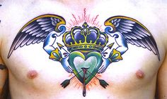 Crown and heart