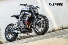 """K -Gun"" Kawasaki ER6n by K-Speed"