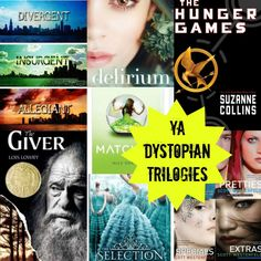 Technically The Giver isn't a trilogy anymore-- there's a fourth book now. Nevertheless I've read or I planned to read a few of these!