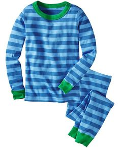 Long John Pajamas In Organic Cotton from #HannaAndersson.
