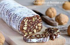 Salame dolce al Cioccolato e Noci