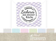 """♥ Aufkleber """"...aus meiner Küche"""" ♥ Farbwahl"""