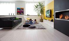 Balterio I Underfloor heating | White laminate flooring