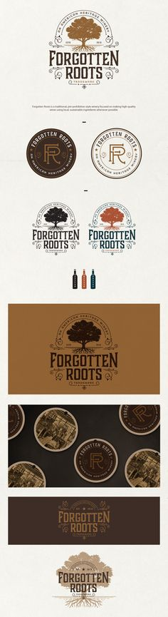 logo for forgotten roots