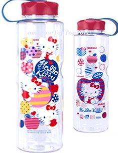 33Ounces Licensed Hello Kitty Tritan BPA Free Water Bottle with Removable Inner Adapter *** Visit the image link more details. Note:It is affiliate link to Amazon.