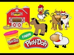 PlayDoh Farm Animals #Toys #PlayTime - Kids #Unboxing Videos #PlayDoh