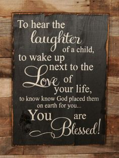 I am truly blessed :)