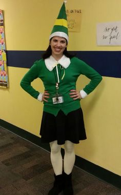 My buddy elf costume 20 costumes to create pinterest elves lots of inspiration diy makeup tutorials and all accessories you need to create your own diy buddy the elf costume idea for halloween solutioingenieria Images