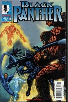 Black Panther # 3 Vol. 3 Marvel Knights Imprint of Marvel Comics Black Panther Pin, Black Panther Comic Books, Black Panther Storm, Black Panther Party, Black Panther Marvel, Comic Book Artists, Comic Book Characters, Panther Pictures, Black Magazine