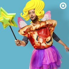 What do you get when you cross a pizza costume and a fairy costume? The most supreme Halloween costume, ever! (Don't forget the real pizza. Halloween Dress, Happy Halloween, Halloween Costumes, Pizza Costume, Family Relations, Harvest Party, Creative Costumes, Haha, Aurora Sleeping Beauty