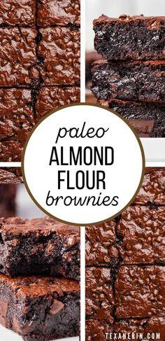 Paleo Sweets, Paleo Dessert, Delicious Desserts, Dessert Recipes, Healthy Desserts, Chocolate Fudge Frosting, Paleo Chocolate, Baking With Almond Flour, Baking Flour