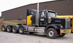 Western Star tri drive heavy haul