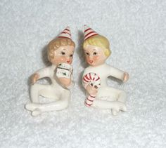 A personal favorite from my Etsy shop https://www.etsy.com/listing/209274236/vintage-christmas-napco-candy-cane