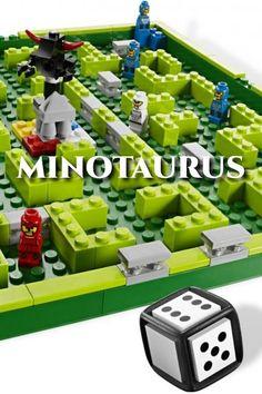 Mocný Minotaurus, postava z gréckej mytológie s ľudským telom a býčou hlavou, chráni tajný chrám ukrytý vo vnútri labyrintu. Priveď ako prvý svojich hrdinov do chrámu, vyhni sa Minotaurovi a pritom šikovne blokuj svojich protihráčov stavaním múrov. Vďaka jasným a stručným pravidlám je táto hra skvelou zábavou pre celú rodinu (2 – 4 hráčov). Hra trvá približne 20 – 30 minút. Lego Games, Usb Flash Drive, Usb Drive