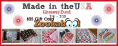 Made in the USA Giveaway Event!