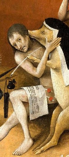 Bosch - Detail of Garden of Earthly Delights (Detail) Hieronymus Bosch, Italian Paintings, European Paintings, Temptation Of St Anthony, Garden Of Earthly Delights, Religious Paintings, Dutch Painters, Medieval Art, Triptych