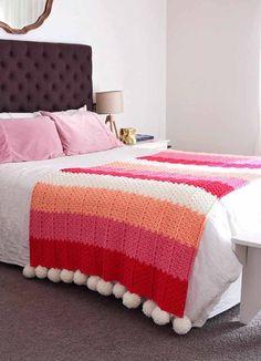Crochet Quilt, Crochet Home, Knit Crochet, Diy And Crafts Sewing, Diy Crafts, Crochet Diagram, Crochet Patterns, Granny Square Blanket, Manta Crochet