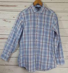 Tommy Hilfiger Mens Regular Fit Long Sleeve Dress Shirt Size 15 1 2 32-33  Medium  TommyHilfiger  DressShirt  mensfashion  mensapparel  fashion   apparel e896366c9f653