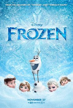 Don't be left in the Snow! Catch Frozen before it hit theatres! #GIVEAWAY - 1 Heart, 1 Family