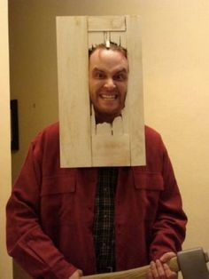 This will be my husband's Halloween costume this year while he hands out candy.