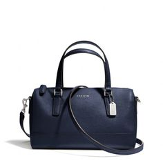 The Saffiano Mini Satchel In Leather from Coach