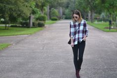 THE OLD NAVY BOYFRIEND SHIRT « A FALL LAYERING ESSENTIAL