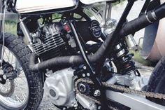 Moto-Mucci: DAILY INSPIRATION: Fuch's 1986 Suzuki DR600 Tracker