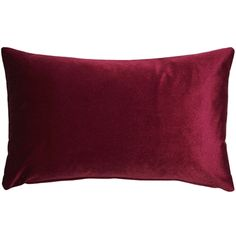 It doesn't get more regal than the Corona Scarlet Velvet Pillow. This inch pillow is made from an exceptionally soft, deep scarlet velvet that catches the light and glows with an unbeatable richness and warmth. Size: x Color: Red. Red Throw Pillows, Velvet Pillows, Scarlet, Machine Wash Pillows, Pillow Arrangement, American Decor, Home Decor Furniture, Lumbar Pillow, Decoration