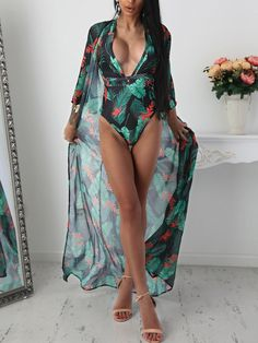 6dfbab6a10fbf Shop Sexy Cut out Front Cover Ups Swimwear Set – Discover sexy women  fashion at Boutiquefeel