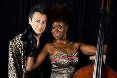 Husband and wife duo Jace K. Seavers and Dorothy Gilmore-Seavers comprise the elegant jazz duo Meet the Seavers (MES). Tonight, Feb 22, the couple will perform in the Frist Center Cafe from 6-8pm. This performance is #FREE. Join us!